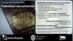 CURSO de FORMACION - Falsedad Documental
