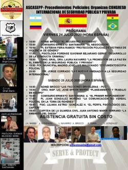 Congresso Internacional de Seguridad Pùublica y Privada