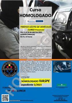 Curso HOMOLOGADO - TRAFICO ILICITO DE VEHICULOS