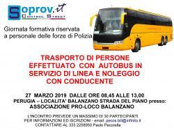 CORSO AUTOTRASPORTO - Il Trasporto di persone con autobus