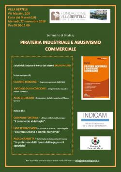 SEMINARIO di STUDI - Pirateria industriale e Abusivismo Commerciale